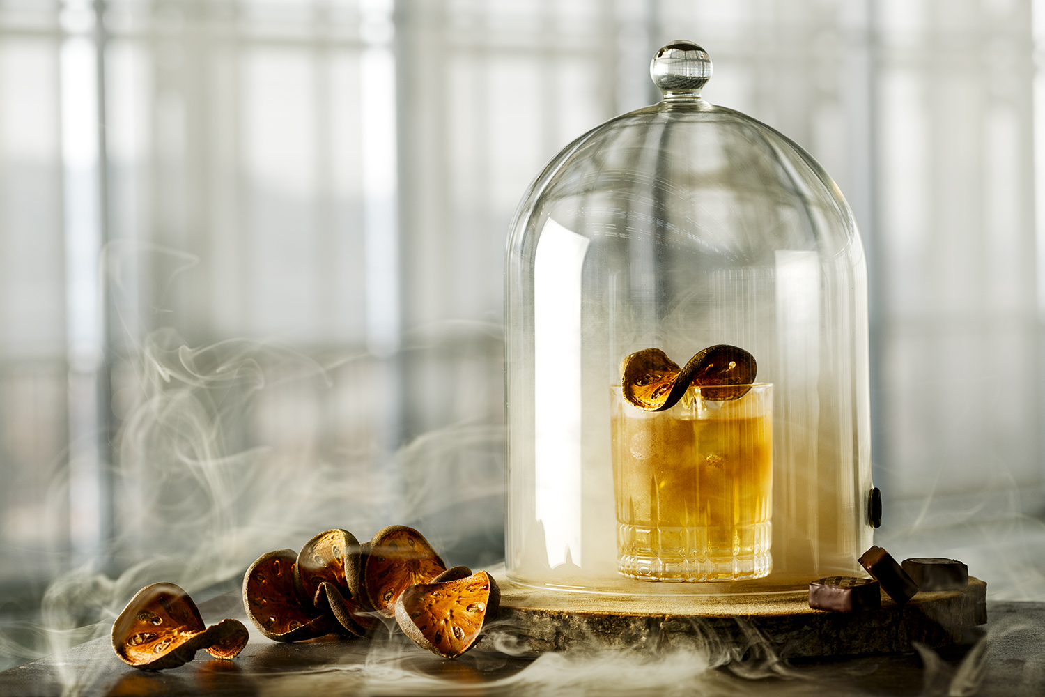 special smoked drink